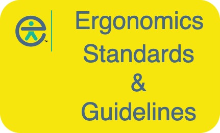 Ergonomics standards and guidelines